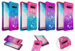 $enCountryForm.capitalKeyWord Australia - Luxury Shockproof Quicksand Glitter Liquid Case for iphone XS MAX XR 6 7 8 ipod touch5 6 Samsung Galaxy S10 plus S10eS8 S9