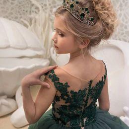 $enCountryForm.capitalKeyWord Australia - Children's lace Court princess Wedding Show prom mop long skirt graduation small host dress Noble