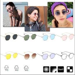 Glasses Female Titanium Australia - Octagonal Sunglasses Sun Glass Shades Sunproof Fashion Unisex Ornament
