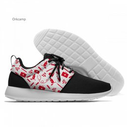 $enCountryForm.capitalKeyWord Australia - Cute Nurse Bear Print Summer Women Men Platform Shoes Antiskid For Female Male Casual