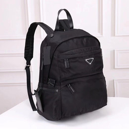 Vente en gros 2019 portable sac à dos designer de mode sac à dos sac à bandoulière sac à main sac presbyte paquet messenger sac parachute tissu sacs à dos pour ordinateur portable