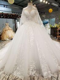 $enCountryForm.capitalKeyWord NZ - 2019 New Sparkly Ball Gown Wedding Dress Luxyry Dubai Afraic Appliques Tassels With Shawl Bridal Gown Plus Size Vestido De Noiva Custom Made