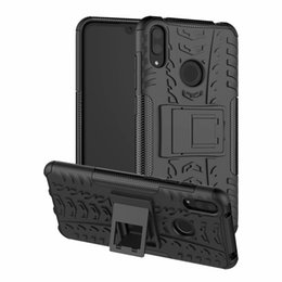 Armor Hybrid Rubber Case Australia - For Huawei Y7 Pro 2019 Case Heavy Duty Armor Shockproof Hybrid Hard Soft Rugged Rubber Cases Cover For Huawei Enjoy 9 Case