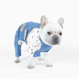 jeans for small dogs NZ - New Denim Dog Coat Jacket Jeans Dog Clothes For Small Medium Dogs Costume Spring Autumn Pet Jumpsuit Puppy Outfit Pet Dogs Clothing