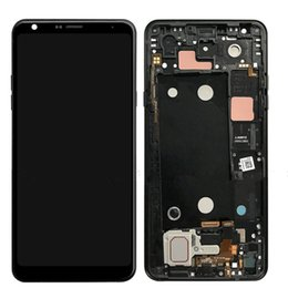 Lg touch paneL online shopping - 6 inch For LG Q Stylo Stylo4 Q710 Q710MS Q710CS LCD Display Touch Screen Digitizer With Frame Full Assembly Original Screen Replacement