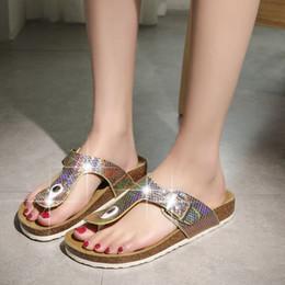 $enCountryForm.capitalKeyWord Australia - 2019 New Color Korean Version of The Sandals Colorful Rhinestone Flip Flops Women's Shoes Beach Shoes Size 30-44