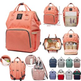 baby bag backpack designer UK - LEQUEEN Diaper Bags Baby And Bag Waterproof For Backpack Mom Stroller Fashion Daddy Mshqh