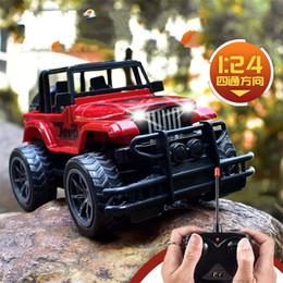 $enCountryForm.capitalKeyWord NZ - Jeep Remote Control Car Big Wheel Racing Model Cars Buggies Four Channel Toys Children Gifts Simulation 18 8yxa N1
