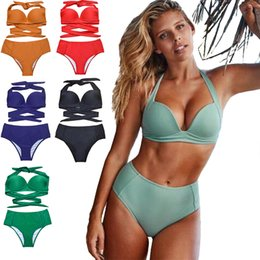 0b02ff00e93 Plus cuP size swimwear online shopping - Sexy Push Up Bikini Sets Summer Swimsuit  Women Swimwear