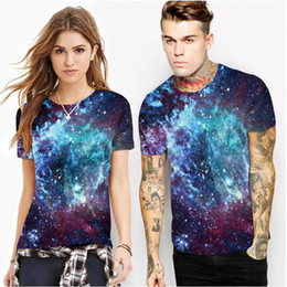 $enCountryForm.capitalKeyWord Australia - 2019 hot blue star digital printing bottoming shirt Foreign trade tide brand men's sports round neck T-shirt