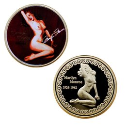 $enCountryForm.capitalKeyWord Australia - GLSY 2019 Hot Selling New Arrival Commemorative Coins American Superstar Marilyn Monroe Design Collection Art Gifts Free Shipping