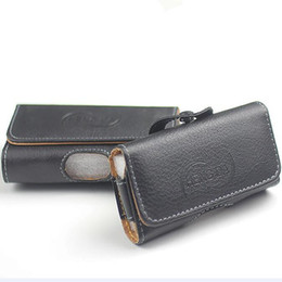 Leather Belt Holster Case NZ - 2019 Universal Wallet PU Leather Horizontal Holster Phone Case Cover Pouch Waist Bag With Belt Clip For iphone X XS MAX XR 8 7 plus