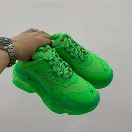 $enCountryForm.capitalKeyWord Canada - TOP quality.New fashion dad designer casual shoes sneakers Paris Triple S hiking shoes on sale men and women casual shoes green 10