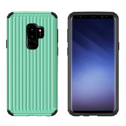 silver dirt NZ - New design Soft Slim Case TPU+PC Silicone Cover Matte Phone Cases Shell with Dust Cap For Samsung galaxy s9+ with dirt resistant