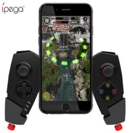 Tablet Wireless Controller Australia - IPEGA PG-9055 Wireless Bluetooth Joystick Game Controller for Android IOS Tablet PC Smartphone Gaming Remote Control for smart phone