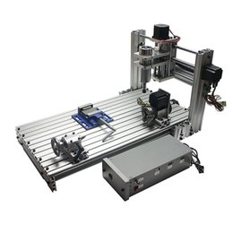 Venta al por mayor de Alta calidad cnc enrutador máquina DIY máquina de grabado de metal 3060 Mini cnc fresadora libre de impuestos a RU