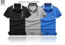 Cotton Thermal Wear Australia - 2019 new pattern autumn Men's Wear fashion Leisure Time Lapel POLO Man Easy Short Sleeve T-shirt