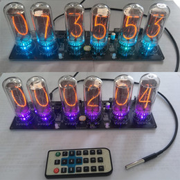 $enCountryForm.capitalKeyWord Australia - Freeshipping a set Electronic clock IN-18 glow tube clock DIY kit tube NIXIE CLOCK