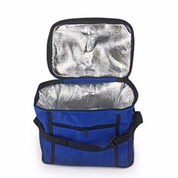 $enCountryForm.capitalKeyWord Australia - Portable Camping 27x24x17cm Oxford Cloth Travel Ice Box Waterproof Outdoor Picnic Bag Insulation Package Insulated Tote Bag