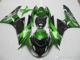 $enCountryForm.capitalKeyWord Australia - Full ABS plastic fairing kit for Kawasaki Ninja ZX6R 2009 2010 2011 green black motorcycle fairings kits ZX6R 09 10 GT35