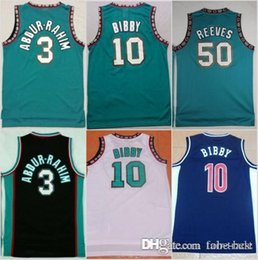 Grizzlies jersey online shopping - Memphis New Bryant Reeves Grizzlies  Basketball Jersey Men Michael Mike Bibby 8217a6496