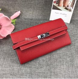women cards Canada - 2020 new wallet card bag fashion Brand women genuine leather Fashion wallet all colors High quality Free shipping