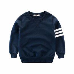 Großhandel Kinderkleidung Herbst 2019 europäischen und amerikanischen Pullover Babykleidung Jungen Kinder lange Ärmel Rundhalsausschnitt Pullover
