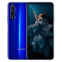 "Original Huawei Honor 20 4G LTE Cell Phone 8GB RAM 128GB 256GB ROM Kirin 980 Octa Core Android 6.26"" Full Screen 48.0MP AI NFC Face ID Fingerprint 3750mAh Smart Mobile Phone on Sale"