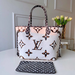 Wholesale print services online – design New M44716 Bai Xing Neverful medium handbags choose Monogram service patterns of animal patterns portrayed sizes slender handle mention ple