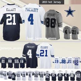 b5b10047276 21 Ezekiel Elliott Dallas jerseys Cowboys 55 Leighton Vander Esch 19 Amari  Cooper 88 Dez Bryant 2019 new jersey Superior