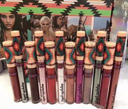 $enCountryForm.capitalKeyWord NZ - M Makeup Vibe Tribe Matte Liquid Lipstick Lip Gloss + Liquid Eyeshadow Limited Edition Set Lipglass Kit 12 colors