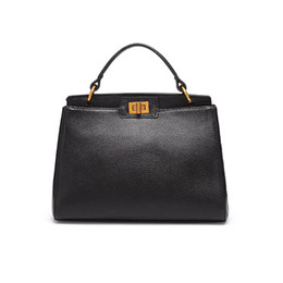 Leather Doctor Bag Pattern Australia - Charm2019 Autumn And Winter Pattern  Kylie Baotou Layer Cowhide Single 0d4fb81c0c890