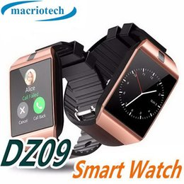 $enCountryForm.capitalKeyWord Australia - DZ09 Smart Watch sport Wrisbrand Android Smart SIM Intelligent mobile phone watch with Camera Passometer Remote GT08 U8 A1 also in stock