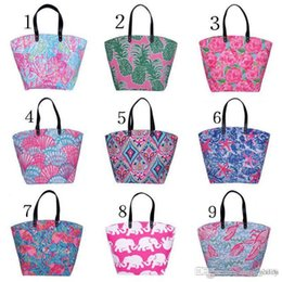 $enCountryForm.capitalKeyWord Australia - Canvas Bag Elephants starfish pineapple flamingos rose Tote Sports Bags Casual Cotton Canvas Tote Bag Free Shipping