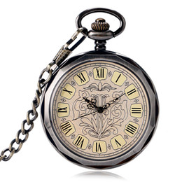$enCountryForm.capitalKeyWord Australia - Luxury Hand Wind Mechanical Pocket Watches Men Wind Up Reloj Mujer Steampunk Pocket Watch Gift Pocket Watch with Chains Gifts