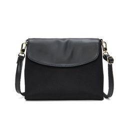 $enCountryForm.capitalKeyWord UK - Women Waterproof Fabric Small Shoulder Bag Casual Lady Purse Simple Flap Bag Handbag Mobile Cellphone Pouch Cross Body Practical #164943