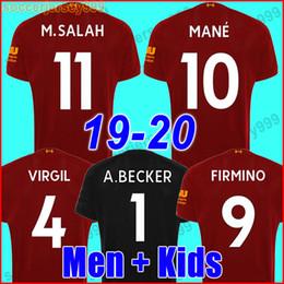 c44c080bf Soccer goalkeeper uniformS online shopping - Thailand M Salah soccer jersey  football shirt VIRGIL MANE FIRMINO