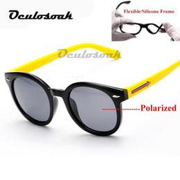 $enCountryForm.capitalKeyWord UK - Flexible Kids Sunglasses Polarized Child Baby Cute Safety Coating Sun Glasses Uv400 Eyewear Shades Infant Oculos De Sol