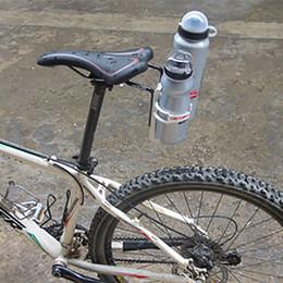 $enCountryForm.capitalKeyWord Australia - Bike Bicycle Aluminum Cycling Rear Mount Saddle-Rail Bracket for 2 double Water Bottle Cages Holder Triathlon Made In Japan #262987
