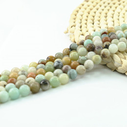 $enCountryForm.capitalKeyWord Australia - Mixed Amazonite Bead 15 inch strand per set natural Loose gemstone beads Manufacturer For Jewelry Making Diy