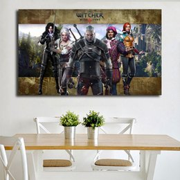 $enCountryForm.capitalKeyWord Australia - The Witcher 3 Wild Hunt Painting Living Room Home Decor Modern Wall Art Painting Poster Picture For Living Room Accessories