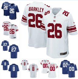 Giant Footballs Canada - Dexter Lawrence Daniel Jones Giants Jersey Deandre Baker Saquon Barkley Julian Love Eli Manning custom american football jerseys Wear youth