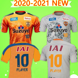 football league NZ - 2020 2021 Japan J1 League Shimizu S-Pulse soccer jersey TAKEUCHI ELSON home orange football shirt DUTRA D.DOUGLAS 20 21 Uniform adult camisa