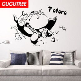 $enCountryForm.capitalKeyWord Australia - Decorate Home totoro cartoon art wall sticker decoration Decals mural painting Removable Decor Wallpaper G-1569