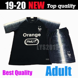 French shorts online shopping - 2 stars Thailand French football sportswear PAYET MBAPPE POGBA football uniform GRIEZMANN Chandell training suit sportswear