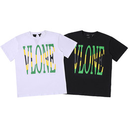 vlone tees NZ - Vlone Mens Stylist T Shirt Men Women High Quality Basketball T Shirt Mens Tees 2 Colors
