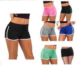 Summer Women Shorts Drawstring Yoga Sports Gym Leisure Homewear Fitness Short Pants Beach Shorts Running Pants Leggings Workout Sportswear on Sale