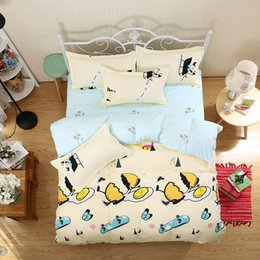 full size yellow sheet set Australia - Cartoon   stars 4pc or 3pc king queen full size bedding sets cotton quilt cover bed sheet pillowcase -bedclothes -dekbedovertrek