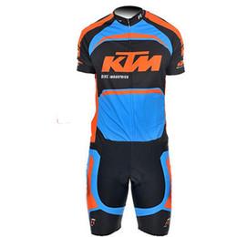 $enCountryForm.capitalKeyWord Australia - KTM Pro Team Cycling Skinsuit Men Cycling Set Short Sleeve Summer Bodysuit Bike Clothing Ropa Ciclismo Culottes Cycling