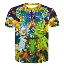 hip hop dragon shirt Canada - Newest 3D Print Funny Alien Graphic Short Sleeved T-shirt Dragon Ball Z Goku Blue Tees Clothing Hip Hop Streetwear Tops Summer
